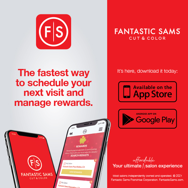 The fastest way to schedule your next visit and manage rewards. It's here, download today.