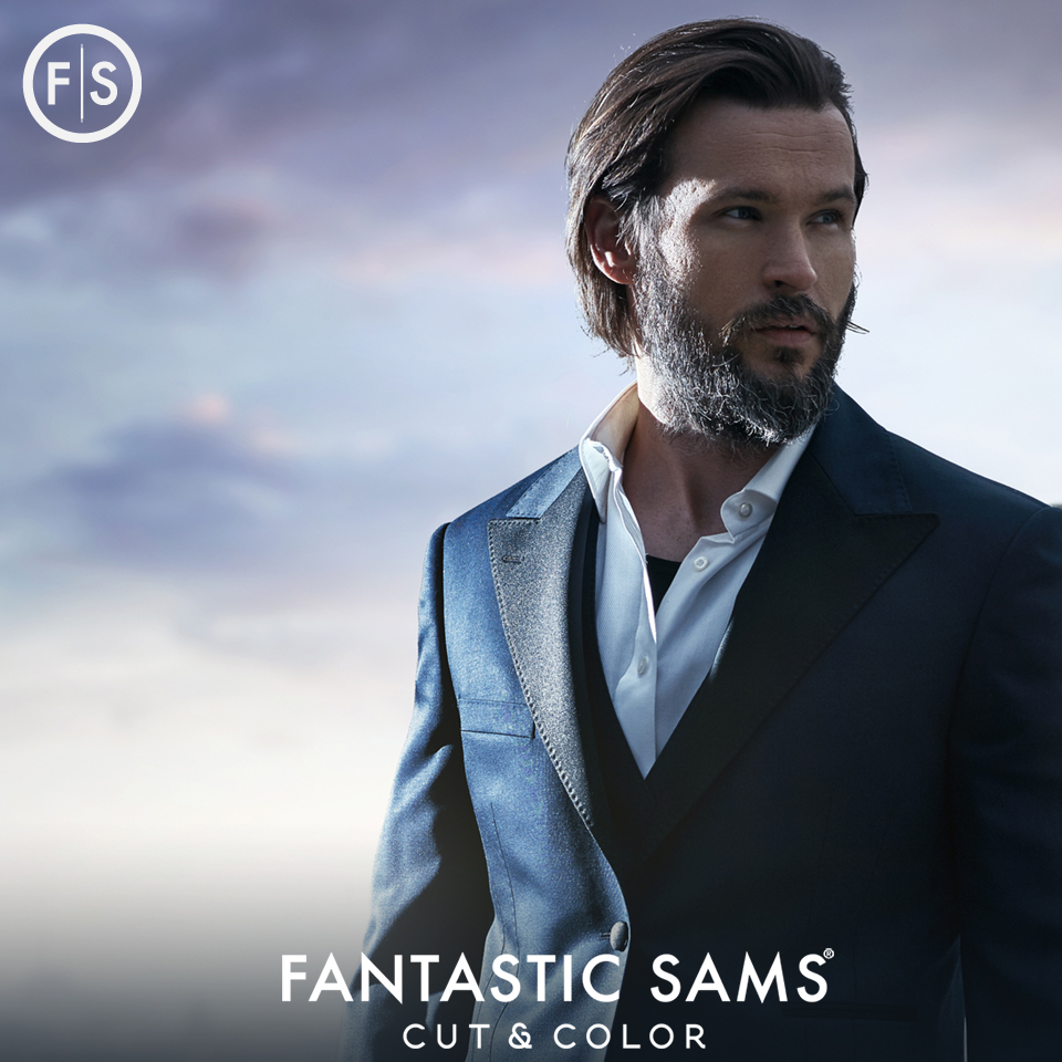Fantastic Sams Cut and Color does hair color for men, too!