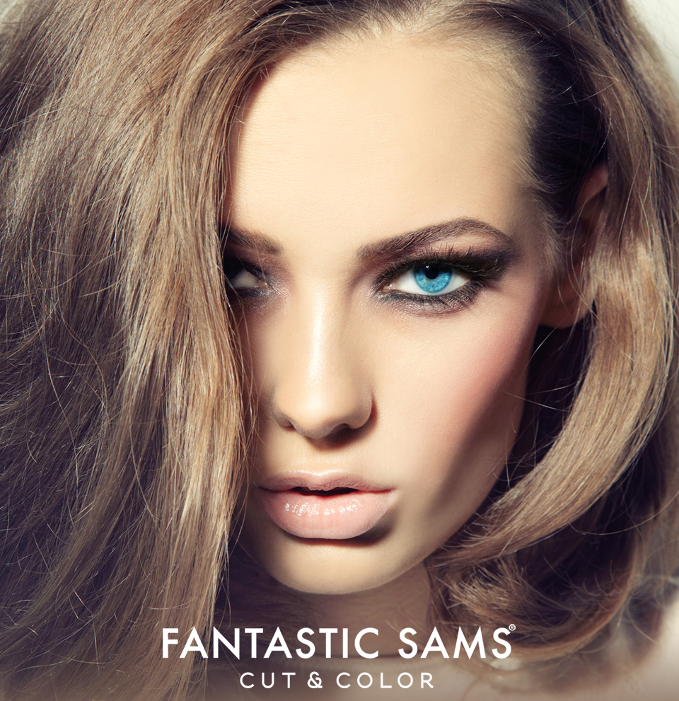 Fantastic Sams Cut and Color can help make you look younger with hair contouring hair color.