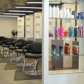 Interior of a salon click to learn about franchise opportunities