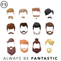 12 hair styles with facial hair to match